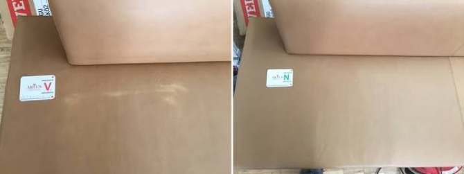 Leder Couch Abrieb Sitzfläche